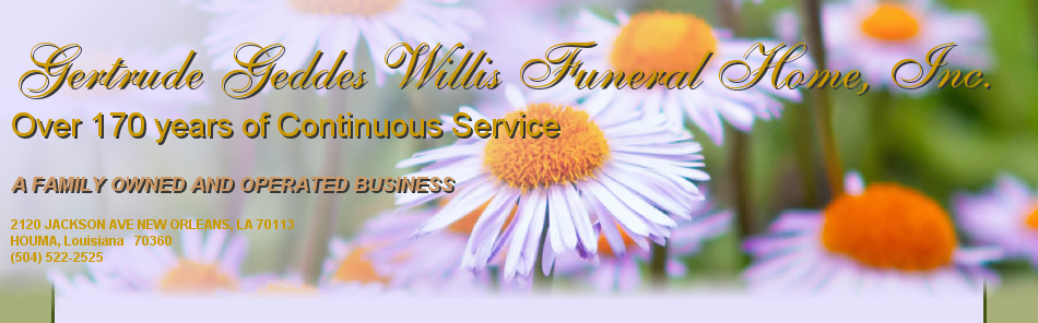 Gertrude Geddes Willis Funeral Home, Inc